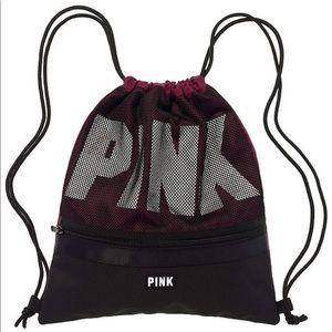 Victoria's Secret PINK Deep Ruby Sling Bag